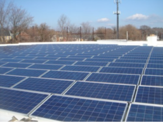 Commercial Solar Installation NY School